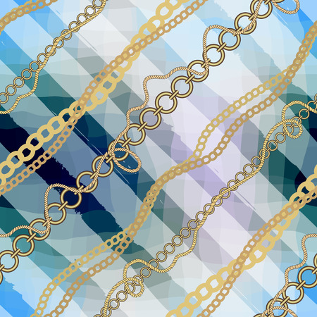 endlessly: Seamless background pattern. Will tile endlessly. Diagonal nautical pattern. Illustration