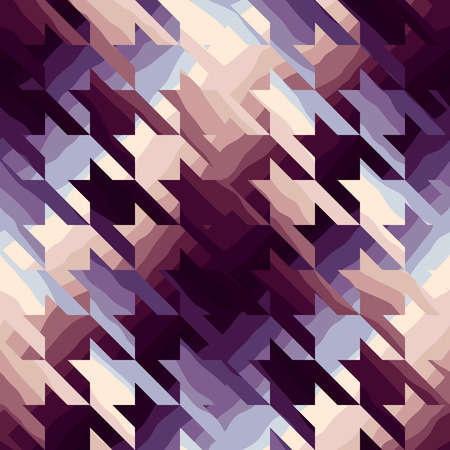 houndstooth: Seamless background pattern. Houndstooth in purple color.