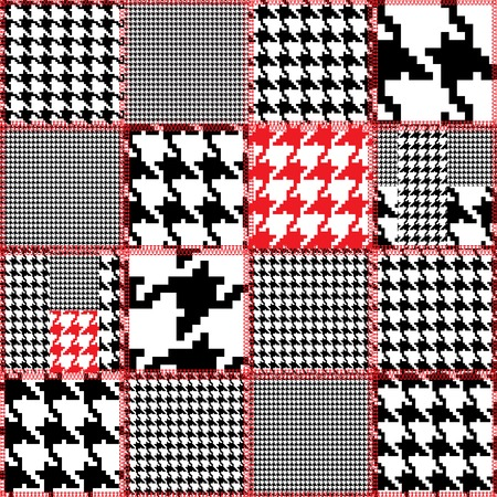 quilting: Seamless background pattern. Will tile endlessly. Fake quilting design