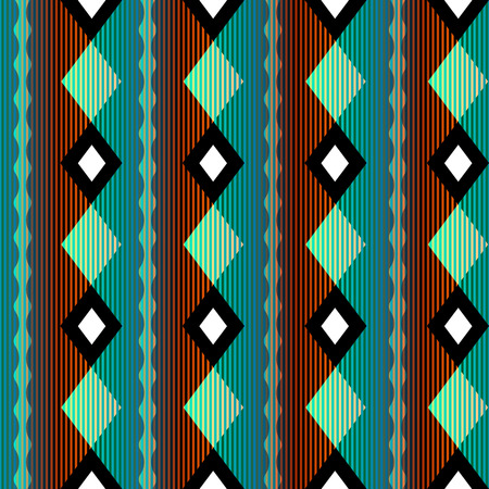 continuity: Seamless background pattern. Geometric pattern with strikes.