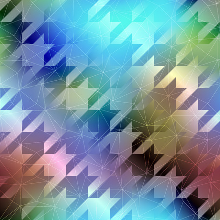 houndstooth: Seamless background pattern. Houndstooth pattern on abstract blur background.