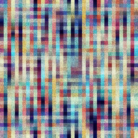 Naadloos patroon als achtergrond. Plaid achtergrond met diagonale textuur. Stock Illustratie