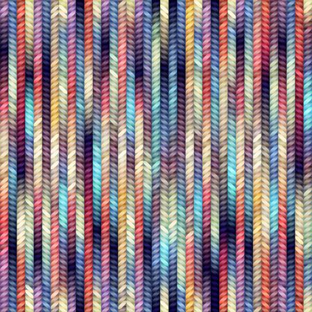 Seamless pattern of the melange knitted texture. Çizim