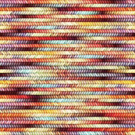 Nahtloses Muster des melange gestrickte Beschaffenheit. Standard-Bild - 44411194