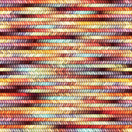 Seamless pattern of the melange knitted texture. Illustration