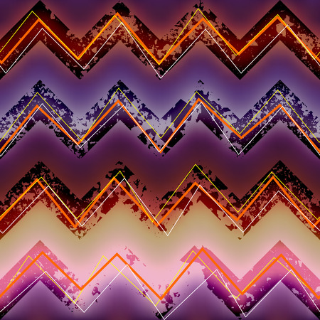 chevron background: Seamless background pattern. Geometric pattern on blur chevron background. Illustration