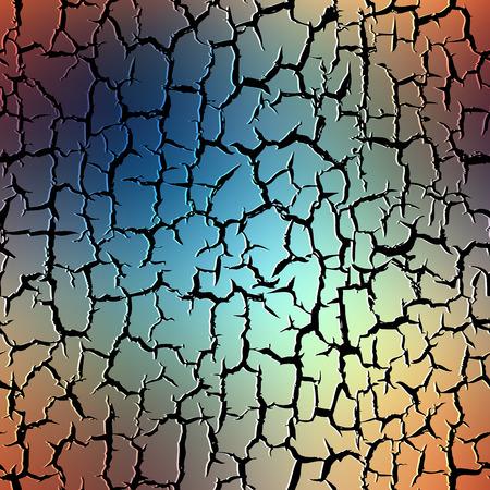 fissure: Seamless background pattern. Grunge pattern with cracks effect on blur background.