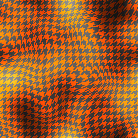 houndstooth: Seamless background pattern. Abstract curved houndstooth geometric pattern. Illustration