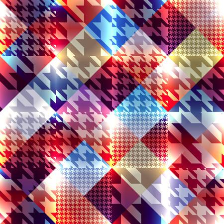 diagonal: Seamless background pattern. Hound-tooth diagonal geometric pattern.
