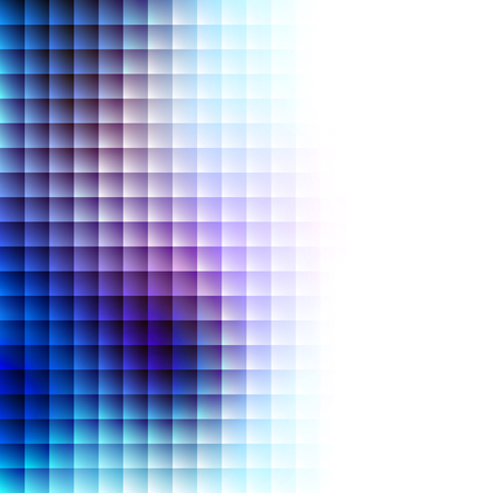 blue gradient: Abstract Background. Blurred Image and tile geometric elements.