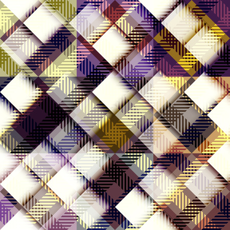 diagonal: Seamless background pattern. Abstract diagonal plaid pattern Illustration
