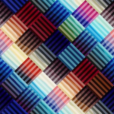 abstrakte muster: Nahtlose Hintergrundmuster. Abstrakte blaue geometrische Muster.