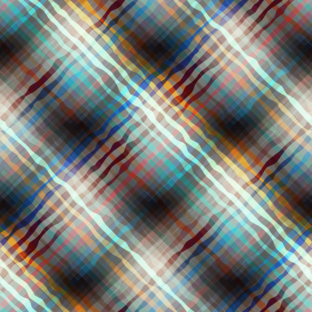 plaid pattern: Seamless background pattern. Abstract diagonal plaid pattern. Illustration