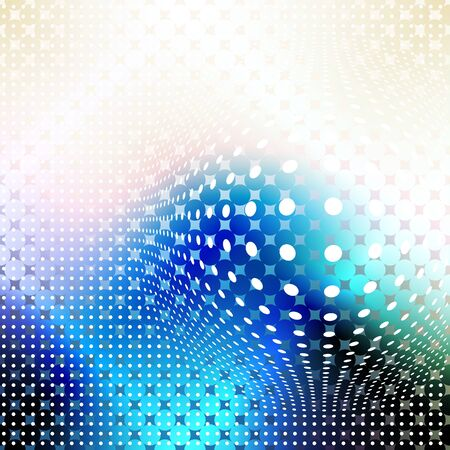 Abstract Background. Blurred Image and geometric elements