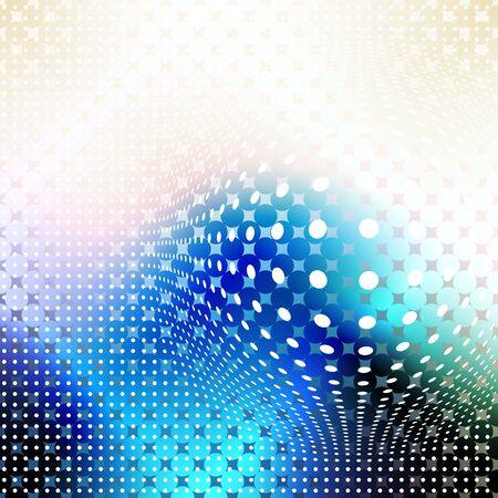 Abstracte Achtergrond. Wazig beeld en geometrische elementen