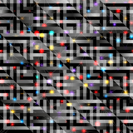 brigth: Seamless background pattern. Abstract diagonal geometric pattern with brigth elements.