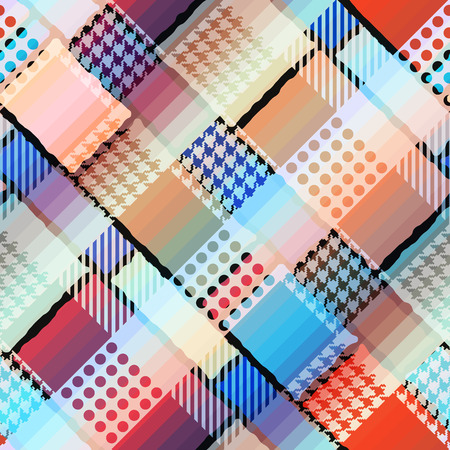 diagonal: Seamless background pattern. Abstract diagonal geometric pattern. Illustration