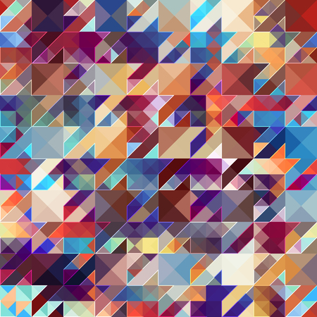 continuity: Seamless background pattern. Abstract hounds-tooth geometric pattern.