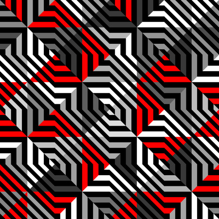 Seamless background pattern. Abstract diagonal geometric pattern. Vector Illustration