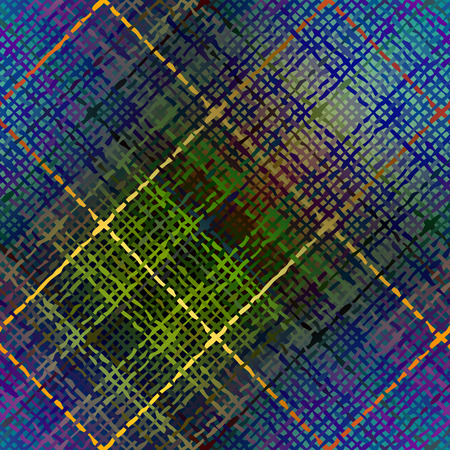 diagonal: Seamless background pattern. Abstract diagonal plaid texture.