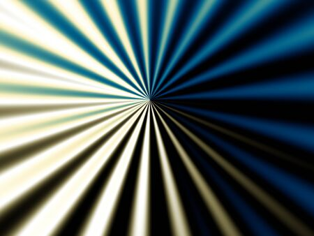 digital art: Fractal digital art background for design. Abstract rays from the circle Stock Photo