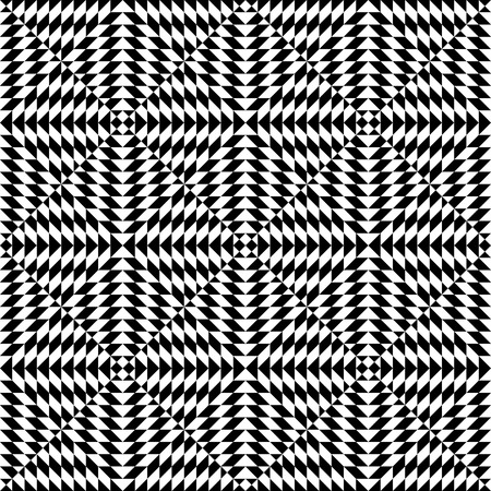 balck and white: Seamless geometric abstract pattern. Simply balck and white pattern. Illustration