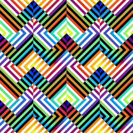 continuity: Seamless background pattern. Chevron pattern with geometric abstract elements.