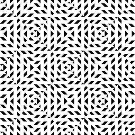balck: Seamless geometric abstract pattern. Simply balck and white pattern. Illustration
