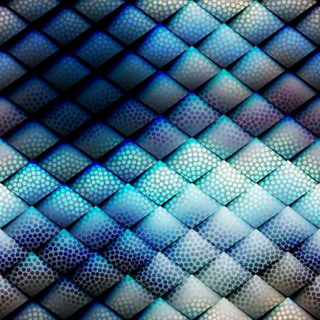 navy blue background: Seamless background pattern. Navy blue geometric abstract pattern. Illustration