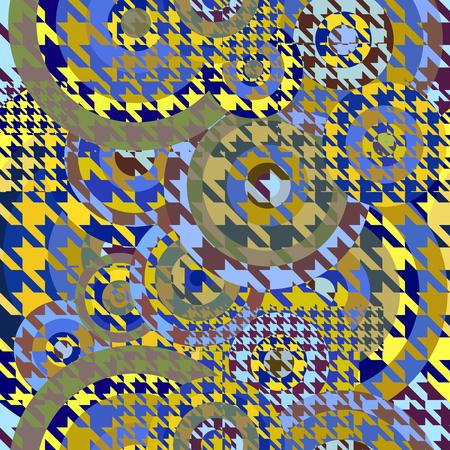 シームレスな geoemtric パターン。抽象的なスタイルの古典的な千鳥 写真素材 - 72520196