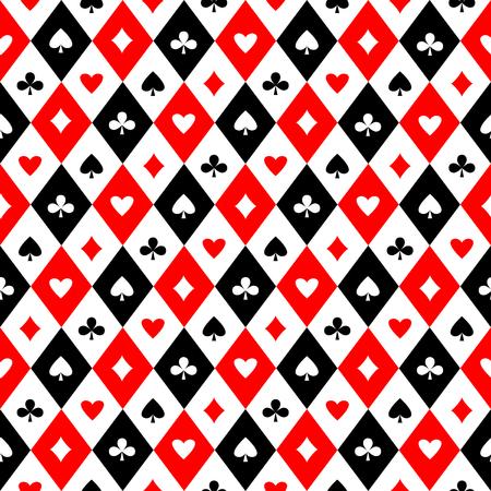 완벽 한 배경 무늬입니다. 카드는 완벽 한 패턴에 적합합니다. 벡터 일러스트 레이 션 일러스트