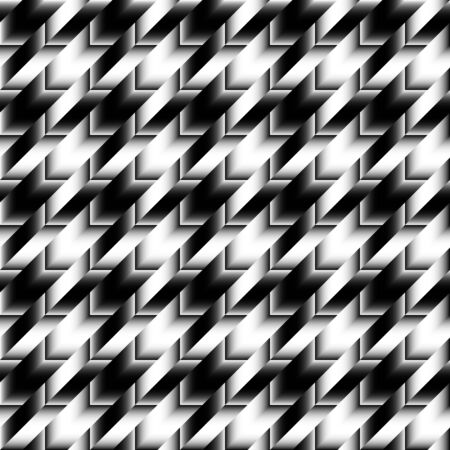 houndstooth: Seamless geoemtric pattern. Classic Hounds-tooth pattern in gradient abstract style
