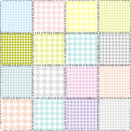 houndstooth: background with houndstooth pattern