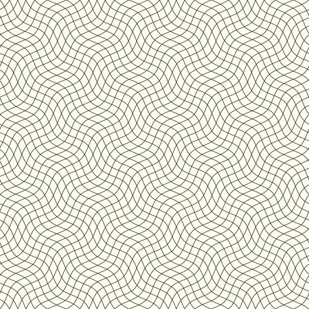 Seamless background pattern. Geometric abstract wavy pattern