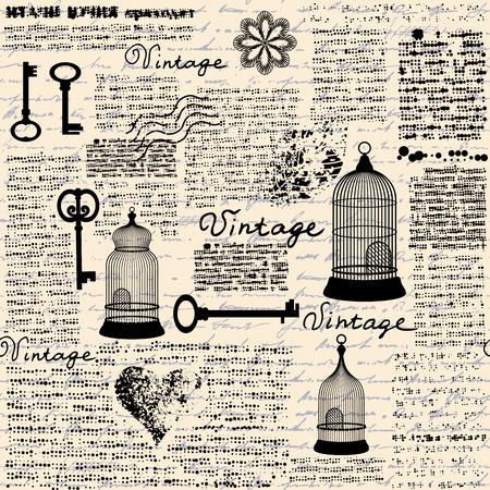 Vintage grunge pattern