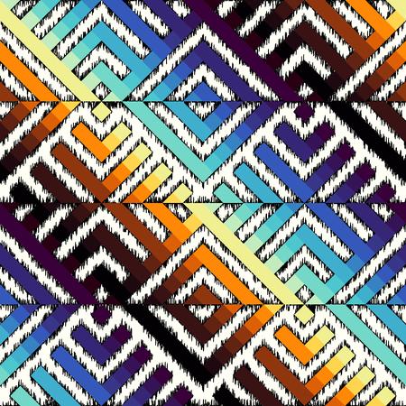 Ink fabric pattern