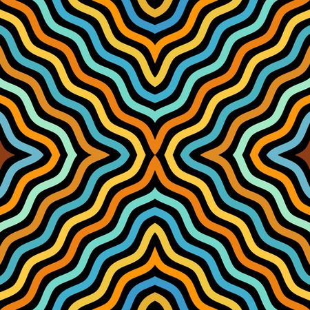 background pattern. Diagonal abstract wavy pattern Illustration