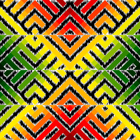 background pattern. Abstract diagonal ethnic geometric pattern.