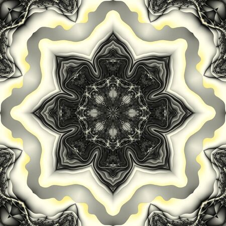 Abstract symmetric pattern Stock Photo