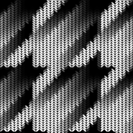 A Seamless Hounds-tooth pattern