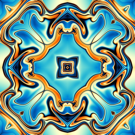 generated: Abstract round pattern