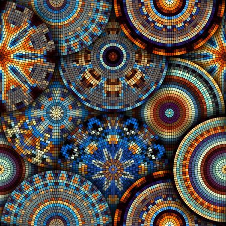 Moelle de mosaïque sans couture