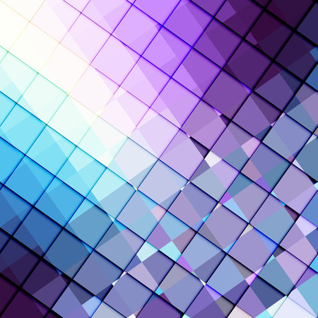 turquiose: Geometric abstract pattern.