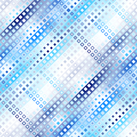 A Seamless background. Geometric abstract diagonal pattern in low poly pixel art style. Illustration