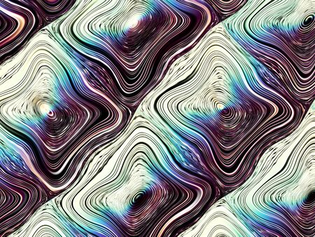 stripping: Digital art abstract pattern Abstract futuristic geometric image.