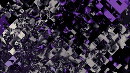 Abstract image background 16:9 aspect ratio in digital art style. Dark purple colors.