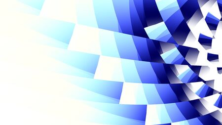Abstract image background 16:9 aspect ratio in digital art style. Horizontal blue image.