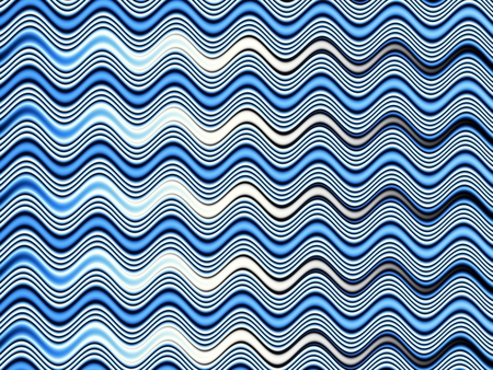 blue flame: Digital art abstract pattern Abstract blue wavy image.