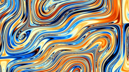 stripping: Abstract image background 16:9 aspect ratio in digital art style. Horizontal blue strips.