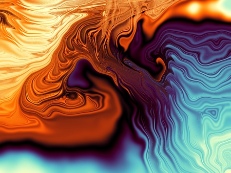 Abstract colorful background. Wavy psychedelic image.